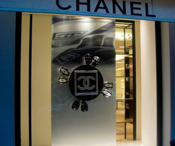 exposition chanel, rue du faubourg saint honoré Paris, kymzo